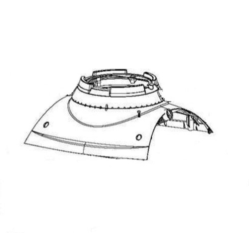 Maytronics Dolphin Outer Casing, 99952092-ASSY