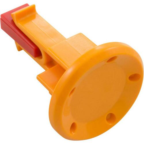 Hayward AquaVac 500 Wheel Axle Plug Orange, RCX341112OR