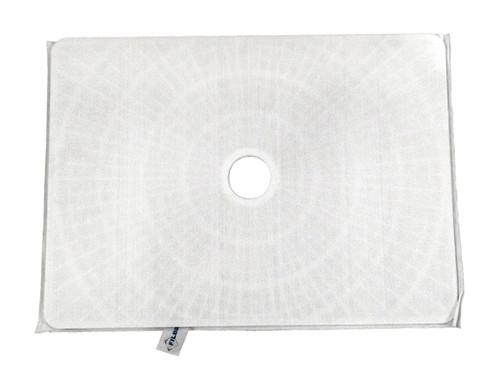 "Anthony Rectangular DE Filter Grid with Center Hub Port 24"" x 17.5"", FC-9750"