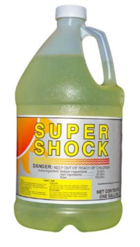 Liquid Pool Shock - 1 Gallon Bottle Chlorine