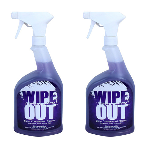 2-Pack of Wipe Out Concentrated Cleaner