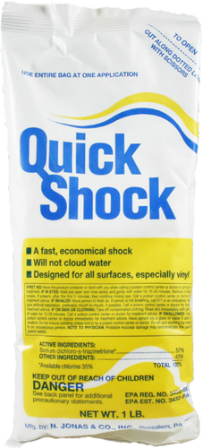 Quick Shock (1lb., 1 Bag) (19001)