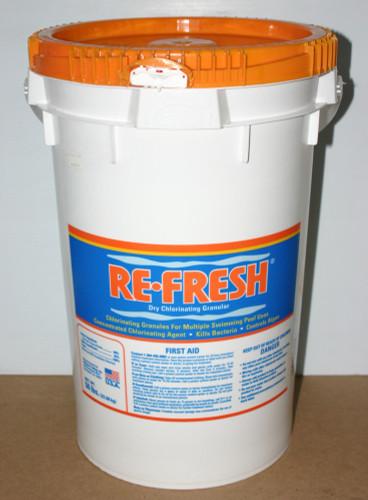 Re-Fresh Dry Chlorinating Granular 50lb Bucket
