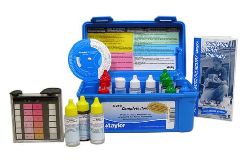 Taylor Complete (Low) Test Kit 6-Pak (K-2105-6)