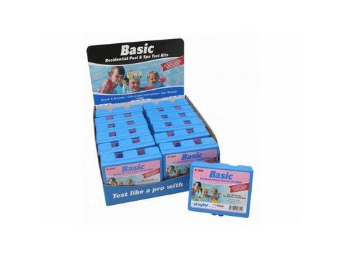 Taylor Basic DPD Test Kit - Set of 12 (K-1001-12)