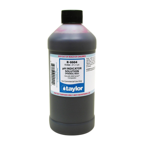 Taylor pH Indicator #4 - 16 Oz. Bottle (R-0004-E)