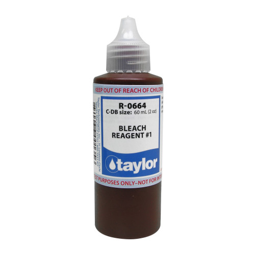 Taylor Bleach #1 Reagent - 2 Oz. (60 mL) Dropper Bottle (R-0664-C)
