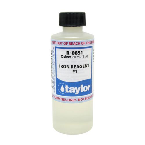 Taylor Iron Reagent #1 Reagent - 2 Oz. (60 mL) Bottle (R-0851-C)