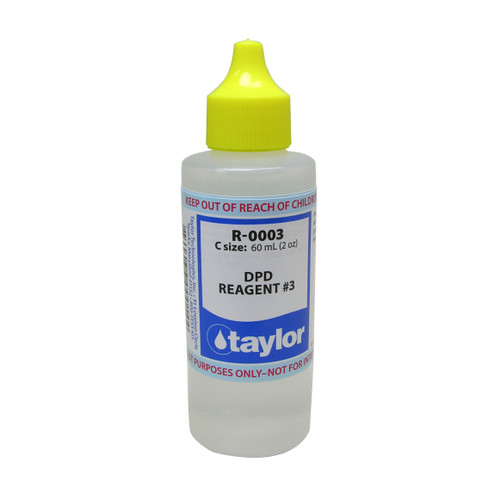 Taylor DPD #3 Reagent - 2 Oz. (60 mL) Dropper Bottle (R-0003-C)