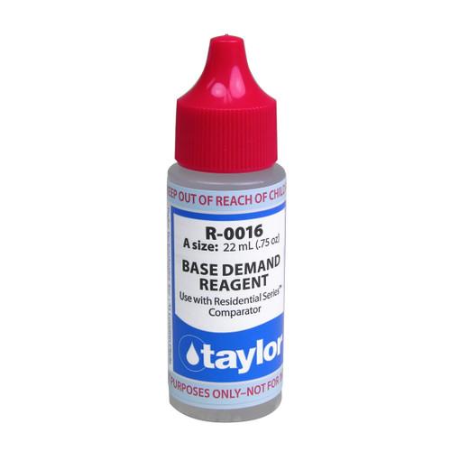 Taylor Base Demand #16 Reagent - 3/4 Oz. Dropper Bottle (R-0016-A)