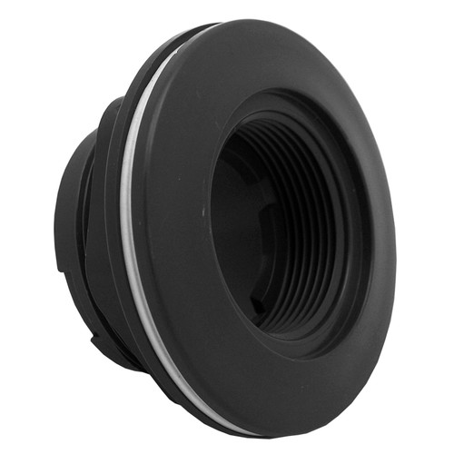 """AquaStar Large Wall Fitting with 1 1/2"""" FPT with Vinyl Gasket and Lock Nut ES1022V05"""