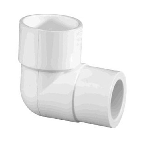 "Lasco .75""S x .5""S SCH40 PVC Reducing 90 Degrees Elbow, 406101 (LAS-56-4146)"