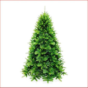 Scandia Spruce 2.44m Dark Green Christmas Tree