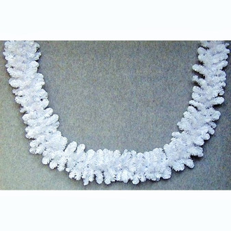 Alberta Spruce Garland 9ft White