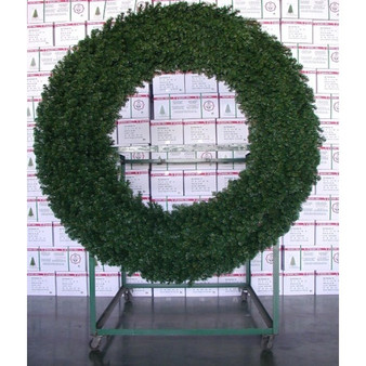 Commercial Alberta Spruce 2m Tubular Wreath Indoor-Outdoor