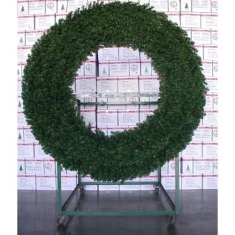 Commercial Alberta Spruce 2m Tubular Wreath Indoor-Outdoor