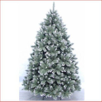 New Hampshire Pine Blue Frosted Christmas Tree 2.28m (7.5ft)