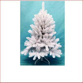 Scandia Spruce 1.22m White Christmas Tree