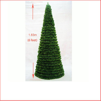 Cone Tree 1.83m (6ft) Indoor-Outdoor Modular
