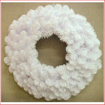 Alberta Spruce Wreath 61cm White