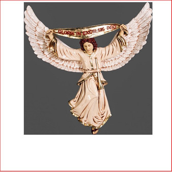 Nativity Angel is the piece that will enhance your nativity set, made from poly-resin that will last for many years