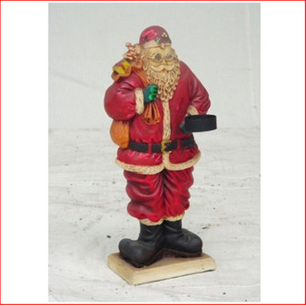Santa Claus Candle Holder