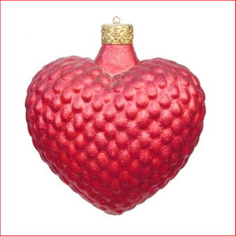 The Polyresin Red Heart Hanging Ornament, is great for a hanging decoration from the ceiling in shopping centres, foyer or your Christmas display.