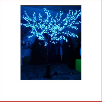 LED Cherry Blossom Tree RGB 2.5m colour changing Led Christmas Lights is a very popular large christmas tree display. Everyone loves the colour changing led lights. This will be your winner in your christmas lighting display.