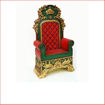 Santa's Throne, perfect for a santa's set up