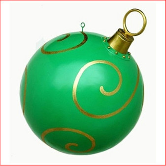Bauble Green 80cm is a large bauble that looks great hanging from a ceiling, this product is seen in shopping centres and large function venues