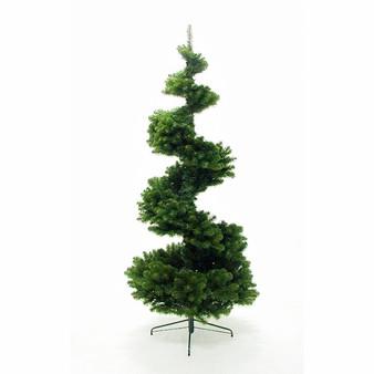 Spiral Pine 7.5ft Hinged