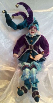 Sitting Elf Purple