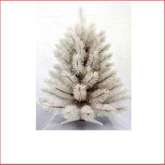 Siris Pine Iridescent White 61cm Christmas Tree