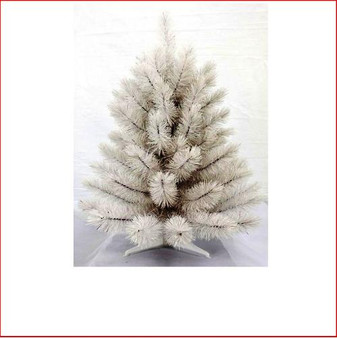 Siris Pine Iridescent White 61cm Christmas Tree