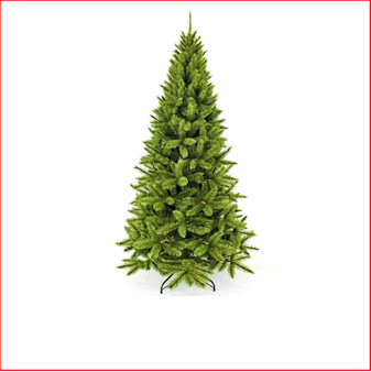Virginia Pine 2.13m Slim Hard Needle Christmas Tree