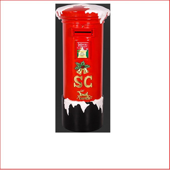 The Poly-resin Santa's Mail Box is a beautiful handcrafted Poly-resin Statue that should be in every Christmas display. Kids can post there letters to Santa/Father Christmas as the mail box can be used and is lockable. No postage stamp required as Santa's little helpers, the elves, will organise the delivery to the North Pole. The Santa's Mail Box is lockable with a key and has a snow pattern on top.