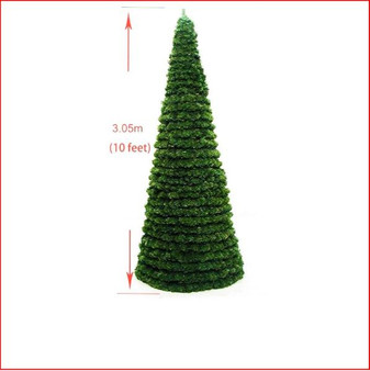 Modular Cone Tree Heavy Duty Deluxe 3.05m Indoor-Outdoor (OD-CONE-100-04)