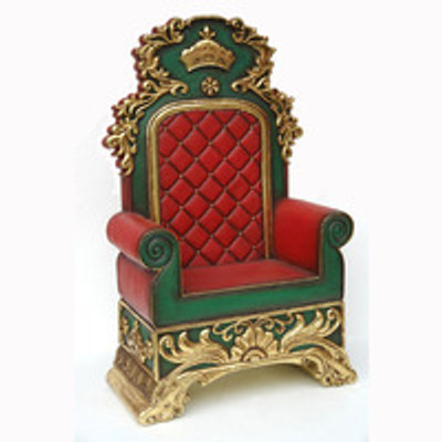 Christmas Santa Chair / Santa Throne