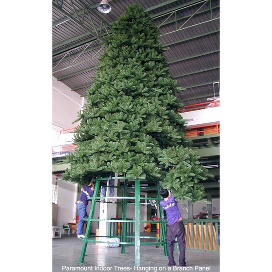Paramount Spruce Indoor / Outdoor Tree , hanging on a branch panel