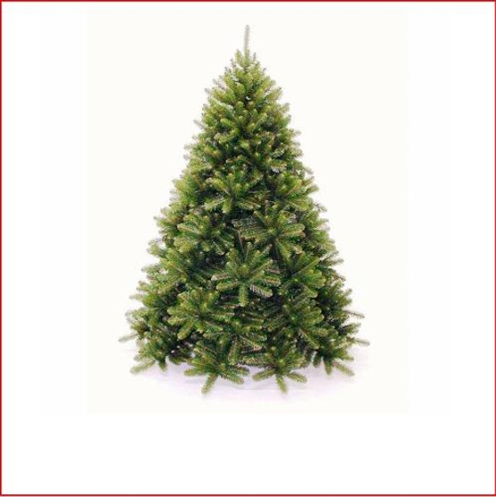 """Monarch Evergreen 2.28m The most plush of our deluxe range, this tree is perfect if you like plenty of tips for decorations but still want a realistic looking tree.  The large 2½"""" round tips make a stunning and very realistic evergreen Christmas tree, very wide at the base.  This tree is ideal for a large home, office, retail store, club or hotel. Branches reach close to the floor.   Colour: Dark Green"""