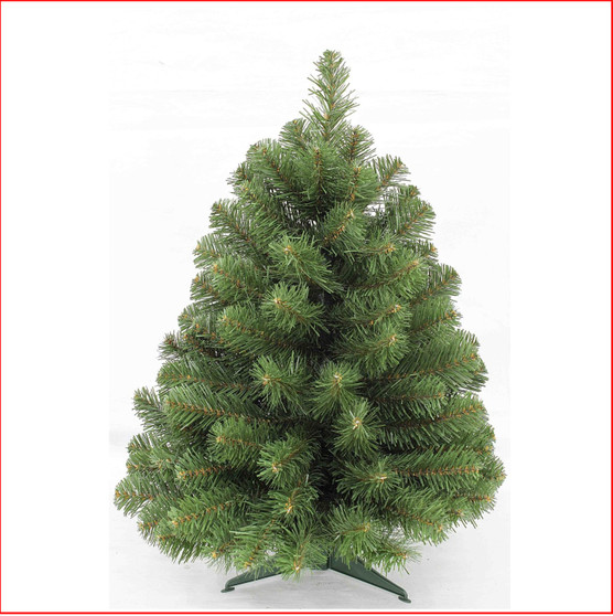 Norway Spruce 61cm Perfect for a small apartment or office, the 2ft and 3ft versions are made with a plastic stand, ideal for a coffee table, reception desk or mantelpiece.  Branches reach off the floor.       Colour: Dark Green