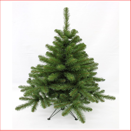 Norway Spruce 1.22m Perfect for a small apartment or office, the 4ft and 5ft versions are ideal as a second tree or a floor tree for a smaller home. Branches reach off the floor.  Colour: Dark Green