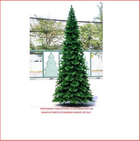 "Pencil Pine Christmas Tree 3.05m The inspiration for the Pencil Pine Downswept Christmas tree originated right here in Australia. The Athrotaxis cupressoides is a species endemic to Tasmania and its common name is Pencil Pine, although it's not a member of the Pine family but rather an evergreen coniferous tree. Growing in high altitudes the narrow conical shape and their downward-drooping limbs, help them shed snow.  With this in mind the Pencil Pine Downswept Christmas tree was developed as the perfect Christmas tree for smaller spaces. Easy to decorate with branches sweeping close to the floor the larger sizes are well suited to stairwells and entrances. This slim line design features 2½"" wide tips and down swept branches making it particularly easy to decorate."