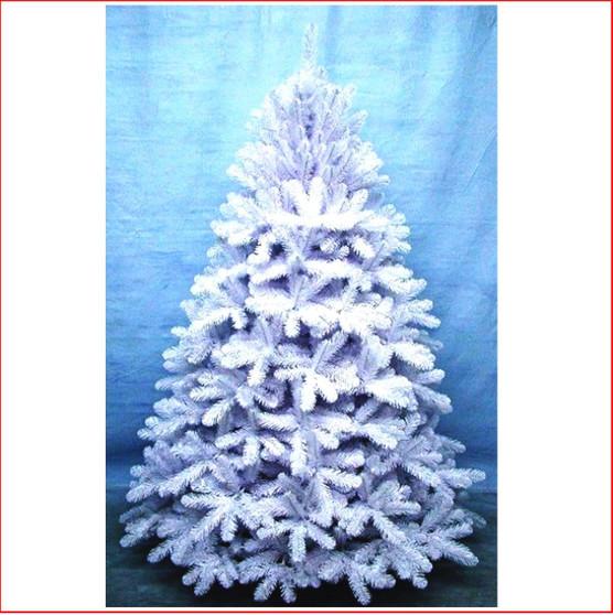 Scandia Spruce 2.13m White Christmas Tree