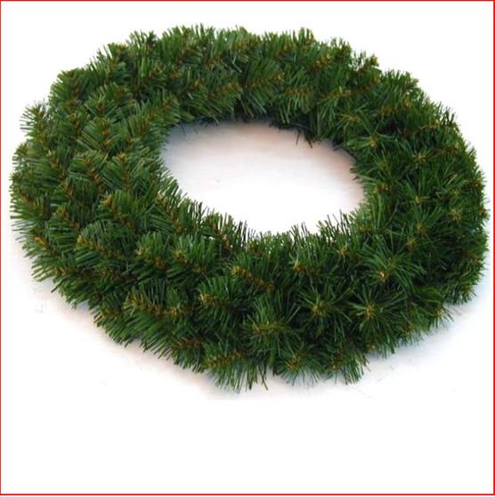 Alberta Spruce Wreath 46cm Dark Green