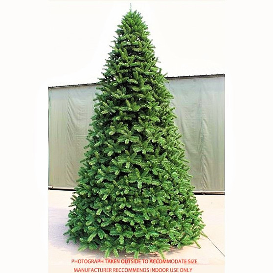 Scandia Spruce 14ft Dark Green Christmas Tree