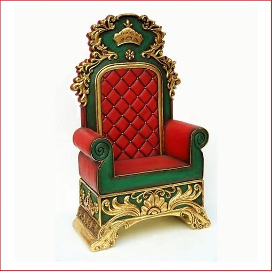Santa's Throne, perfect for a santa's set up