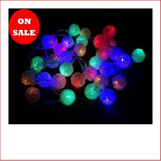 32 LED Wire Ratten Balls Multi