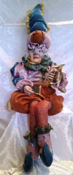 Sitting Elf Pink