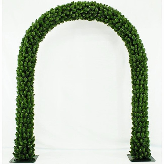 Christmas Arch Curved 7.5ft